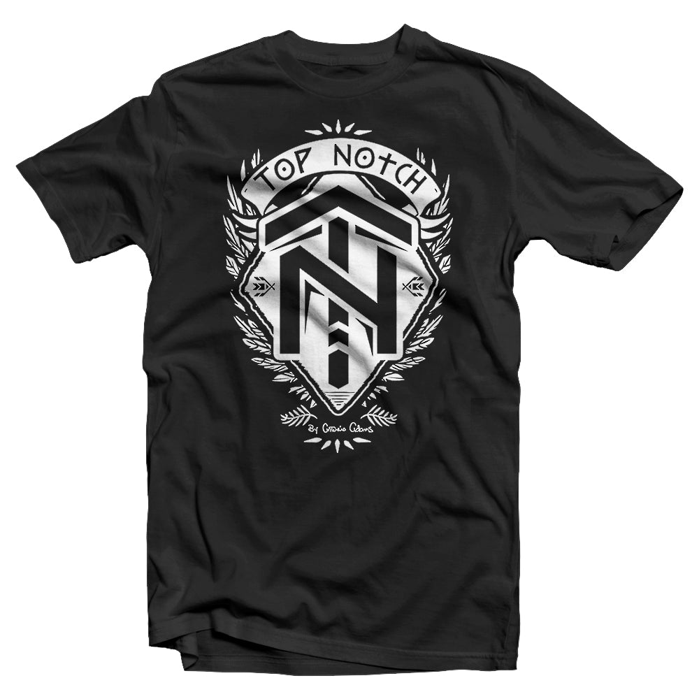TOP NOTCH SHIELD TEE