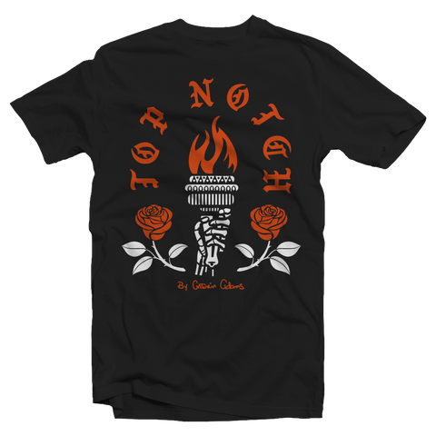 ROSES & TORCH TNC TEE