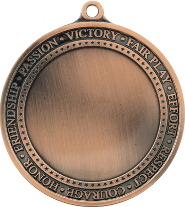 "2 3/4"" Antique Medal with 2"" Insert"
