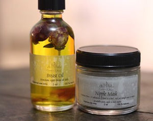 Nipple Mask & Breast oil set - Essence Of Nature LLC