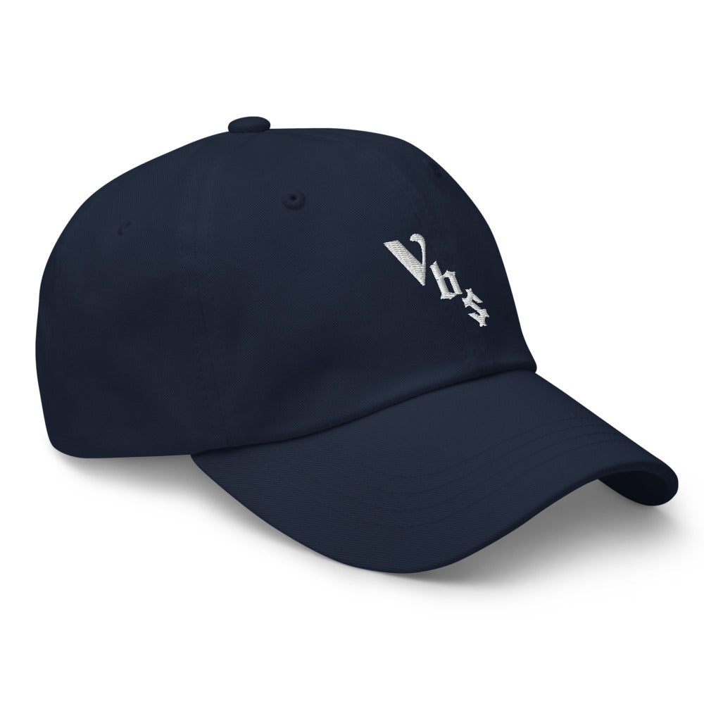 Vbs Hat (white embroidery)