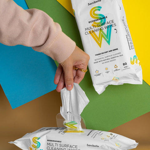 New - Natural Surface Cleaning Wipes (2-Packs, 160 Wipes)
