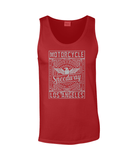 Motorcycle Speedway – Gildan SoftStyle® Tank Top - Biker T-Shirts UK