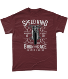 Speed King – Gildan Heavy Cotton T-Shirt - Biker T-Shirts UK