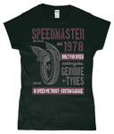 Speed Master - Gildan SoftStyle® Ladies Fitted Ringspun T-Shirt