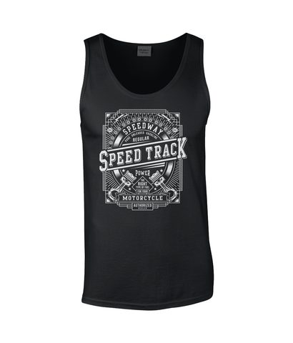 Speed Track – Gildan SoftStyle® Tank Top - Biker T-Shirts UK