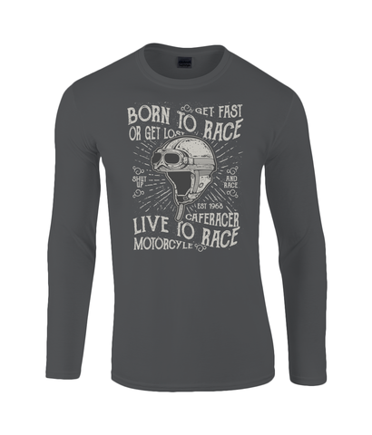 Born To Race - Gildan SoftStyle® Long Sleeve T-Shirt