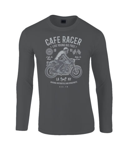 Cafe Racer v3 - Gildan SoftStyle® Long Sleeve T-Shirt