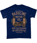 Gasoline Motor Oil – Gildan Heavy Cotton T-Shirt - Biker T-Shirts UK