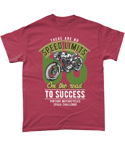 No Speed Limits - Gildan Heavy Cotton T-Shirt