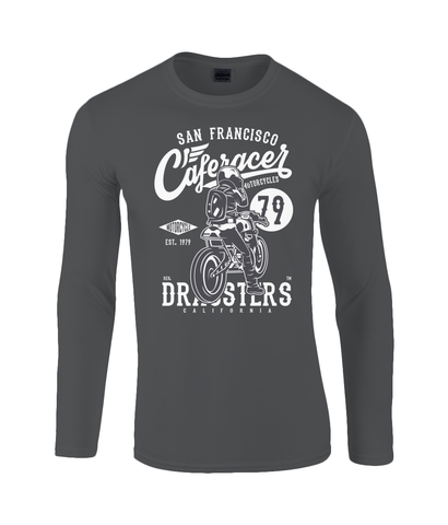 Cafe Racer V2 - Gildan SoftStyle® Long Sleeve T-Shirt