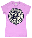 Skateboard Legend – Gildan SoftStyle® Ladies Fitted Ringspun T-Shirt - Biker T-Shirts UK