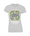 No Speed Limits - Gildan Ladies Premium Cotton T-Shirt