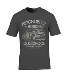 Psychobilly Hotrod – Gildan Premium Cotton T-Shirt - Biker T-Shirts UK