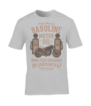 Gasoline Motor Oil – Gildan Premium Cotton T-Shirt - Biker T-Shirts UK