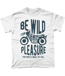 Be Wild - Gildan Heavy Cotton T-Shirt - Biker T-Shirts UK