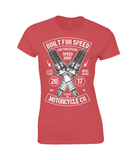 Built For Speed - Gildan Ladies Premium Cotton T-Shirt