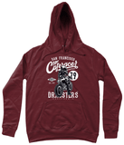 Cafe Racer v2 – AWDis Girlie College Hoodie - Biker T-Shirts UK
