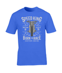 Speed King – Gildan Premium Cotton T-Shirt - Biker T-Shirts UK