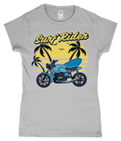 Surf Rider - Gildan SoftStyle® Ladies Fitted Ringspun T-Shirt