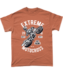 Extreme Motocross – Gildan Heavy Cotton T-Shirt - Biker T-Shirts UK