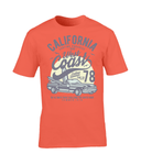 California West Coast – Gildan Premium Cotton T-Shirt - Biker T-Shirts UK