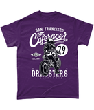Cafe Racer V2 – Gildan Heavy Cotton T-Shirt - Biker T-Shirts UK