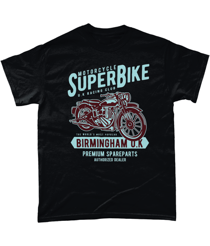 SuperBike – Gildan Heavy Cotton T-Shirt - Biker T-Shirts UK