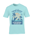 Surfing Paradise – Gildan Premium Cotton T-Shirt - Biker T-Shirts UK