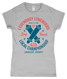 Legendary Longboard – Gildan SoftStyle® Ladies Fitted Ringspun T-Shirt - Biker T-Shirts UK