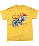 Custom – Gildan Heavy Cotton T-Shirt - Biker T-Shirts UK