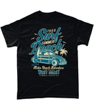 Surf Beach – Gildan Heavy Cotton T-Shirt - Biker T-Shirts UK