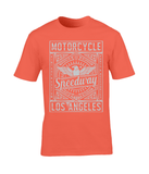 Motorcycle Speedway – Gildan Premium Cotton T-Shirt - Biker T-Shirts UK
