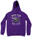 Super Plug – AWDis Girlie College Hoodie - Biker T-Shirts UK