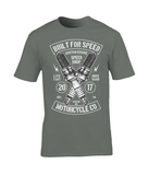 Built For Speed - Gildan Premium Cotton T-Shirt