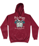 Ride The Waves – AWDis College Hoodie - Biker T-Shirts UK