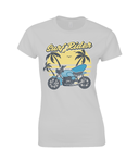 Surf Rider - Gildan Ladies Premium Cotton T-Shirt
