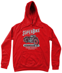 SuperBike – AWDis Girlie College Hoodie - Biker T-Shirts UK