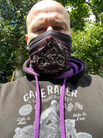 Biker T-Shirts UK - Unisex Neck Gaiter - Biker T-Shirts UK