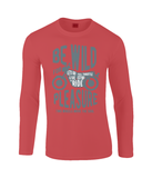 Be Wild - Gildan SoftStyle® Long Sleeve T-Shirt
