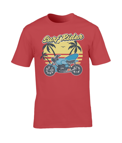 Surf Rider - Gildan Premium Cotton T-Shirt