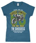 No Speed Limits - Gildan SoftStyle® Ladies Fitted Ringspun T-Shirt