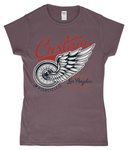 Custom – Gildan SoftStyle® Ladies Fitted Ringspun T-Shirt - Biker T-Shirts UK