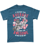 Awesome Motocross – Gildan Heavy Cotton T-Shirt - Biker T-Shirts UK