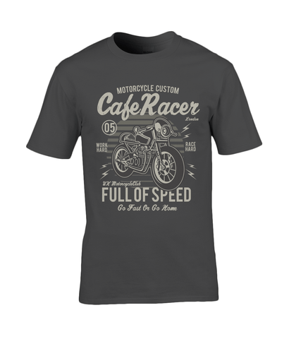 Cafe Racer v1 - Premium Cotton T-Shirt