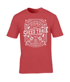 Speed Track – Gildan Premium Cotton T-Shirt - Biker T-Shirts UK