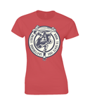Skateboard Legend – Gildan Ladies Premium Cotton T-Shirt - Biker T-Shirts UK