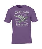 Super Plug – Gildan Premium Cotton T-Shirt - Biker T-Shirts UK