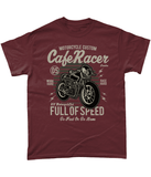 Cafe Racer v1 – Gildan Heavy Cotton T-Shirt - Biker T-Shirts UK