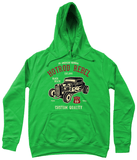 HotRod Rebel – AWDis Girlie College Hoodie - Biker T-Shirts UK